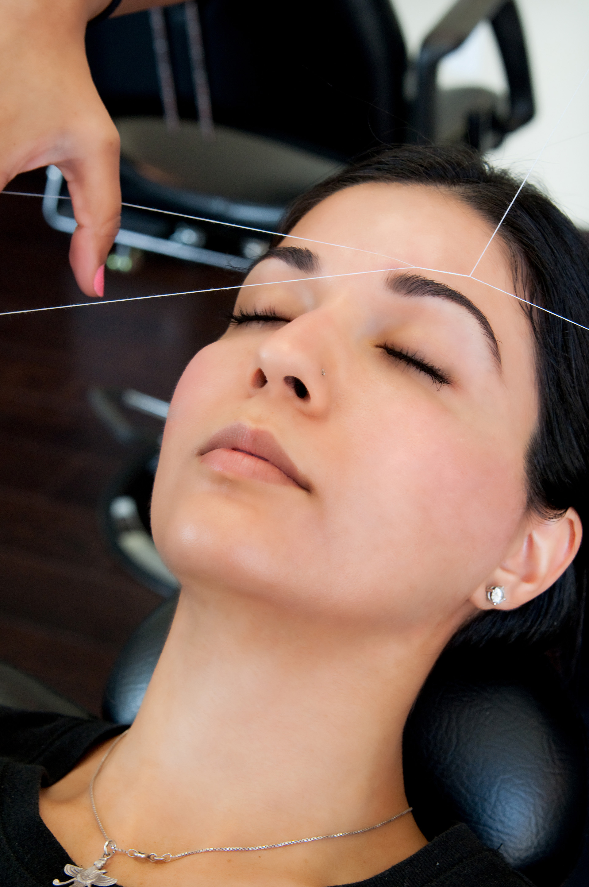 Threading hair removal | Sheknows.com