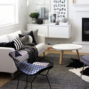 Straight stripe home decor