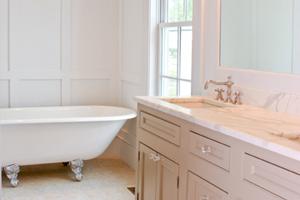 Winter decor guide: Bathroom