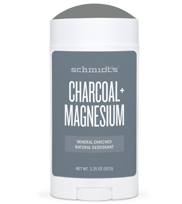 10 Best deodorants for the summer: Schmidt's Charcoal + Magnesium Mineral Enriched Natural Deodorant Stick | Summer beauty products