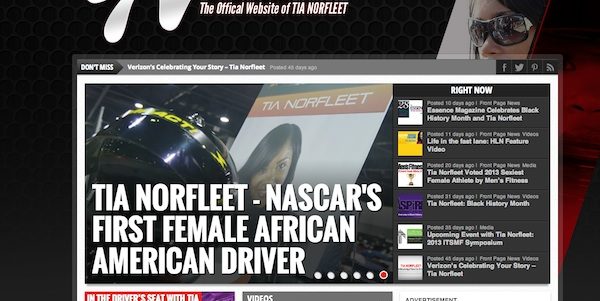 "Tia Norfleet ""first-and-only"" screenshot."