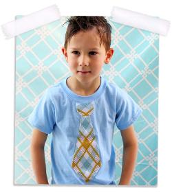 Back to school tie t-shirt