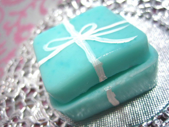 tiffany's box jello shots