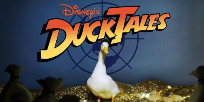 The DuckTales theme song cover did