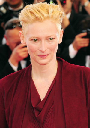 Tilda Swinton at Cannes International Film Festival