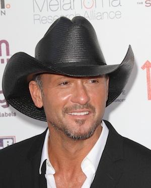 Tim McGraw in Las Vegas