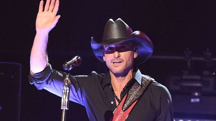 Country star Tim McGraw is giving
