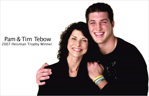 Tim Tebow and mother