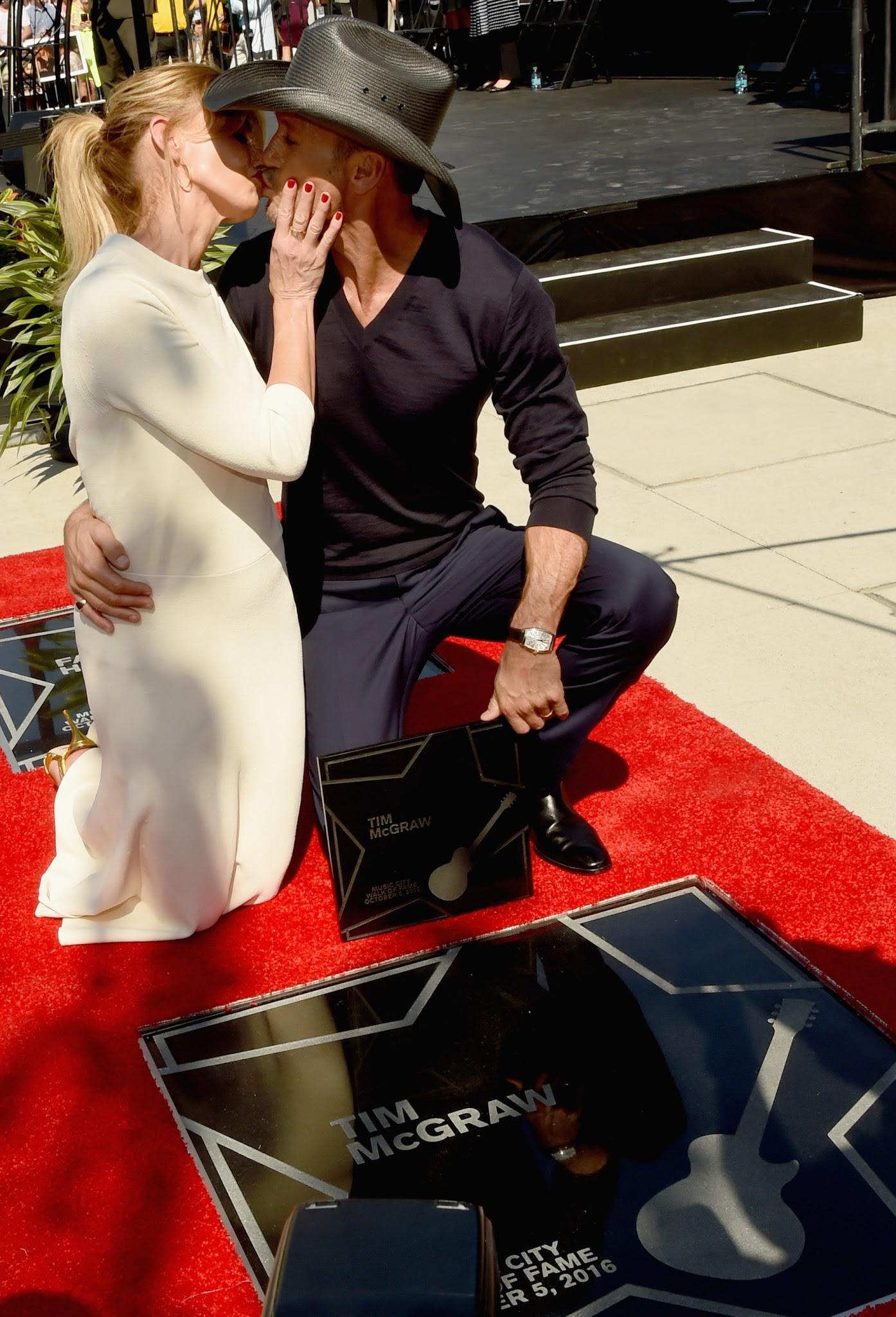 Faith Hill & Tim McGraw Walk of Fame