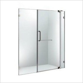 Frameless Pivoting Shower Door