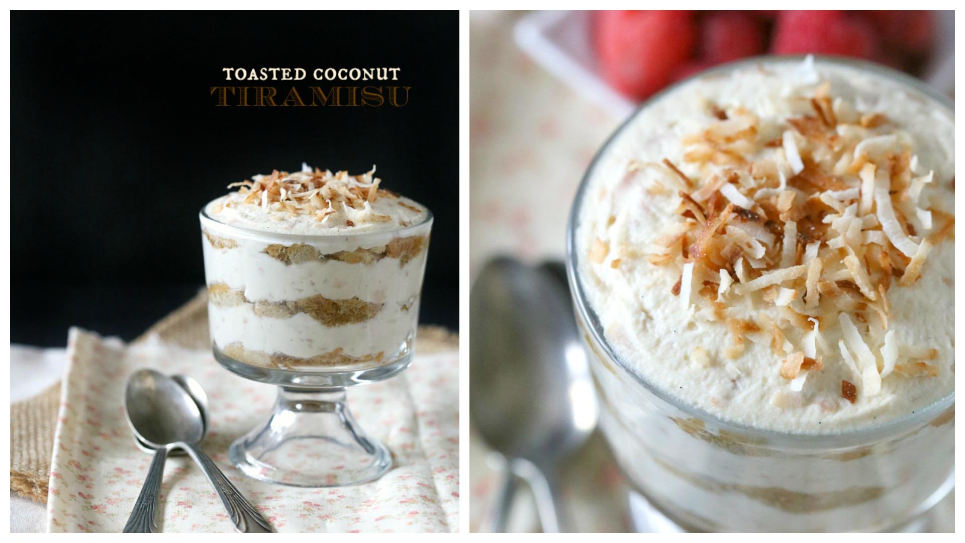 Coconut tiramisu from Nutmeg Nanny