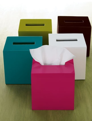 Jonathan Adler Tissue Boxes