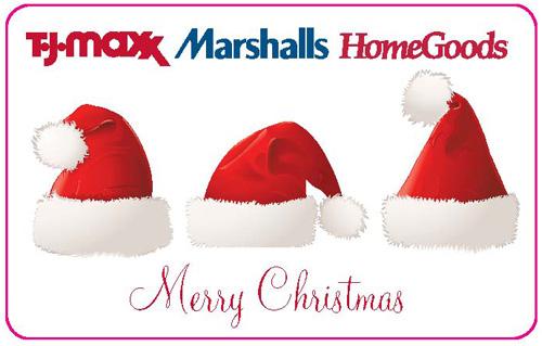 Three-in-one: TJ Maxx, Marshalls, Homegoods gift card