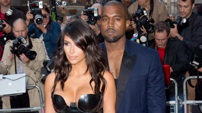 Kim K. puts fashion first as