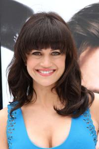 Video interview: Carla Gugino swims with