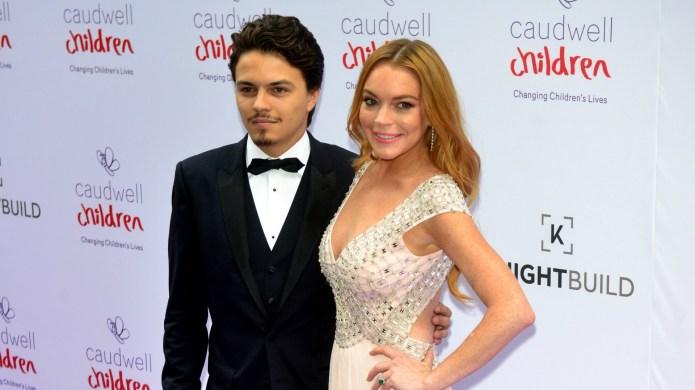 Lindsay Lohan claims her fiancé Egor