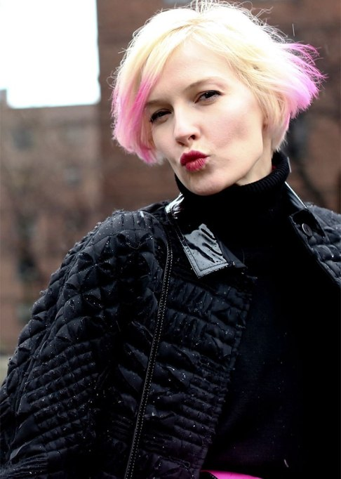 Stunning Ways To Style Short Hair   Ombre Bob