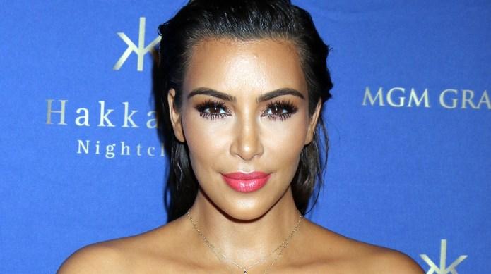 Kim Kardashian West hosts an evening
