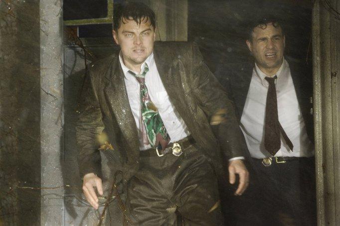 Leonard Dicaprio and Mark Ruffalo in Shutter Island