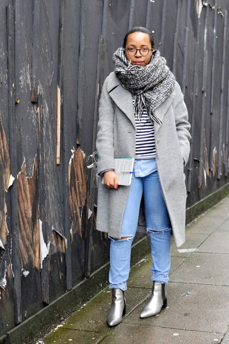 Blanket Scarves to Keep You Cozy This Fall and Winter: Greyed Out   Fall and Winter Fashion 2017