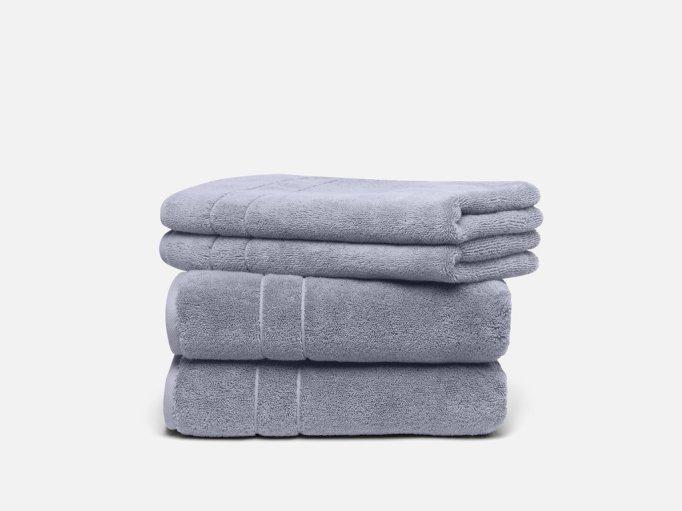 Plush towel set from Brooklinen