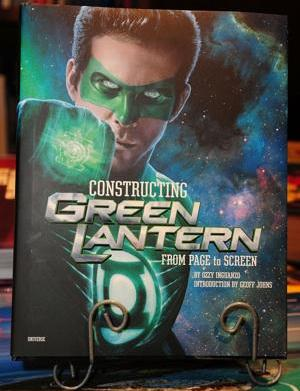 The Green Lantern comes out of