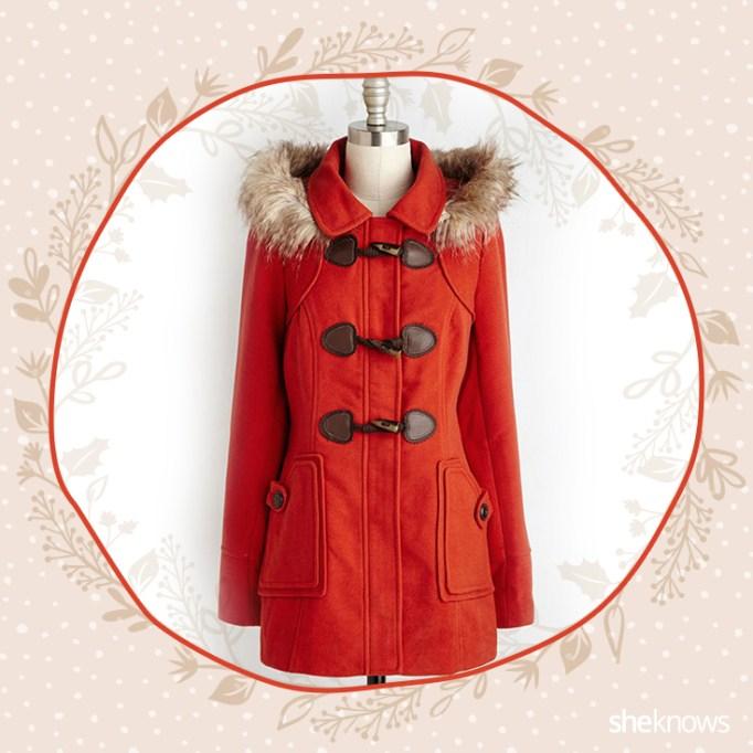 Vermillion coat