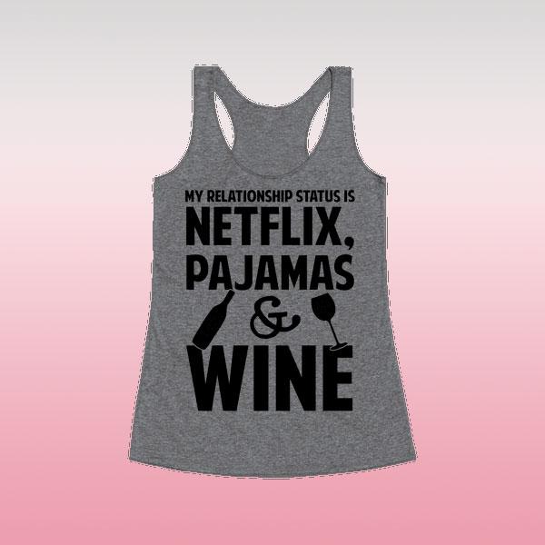 Netflix Valentine's Day tank