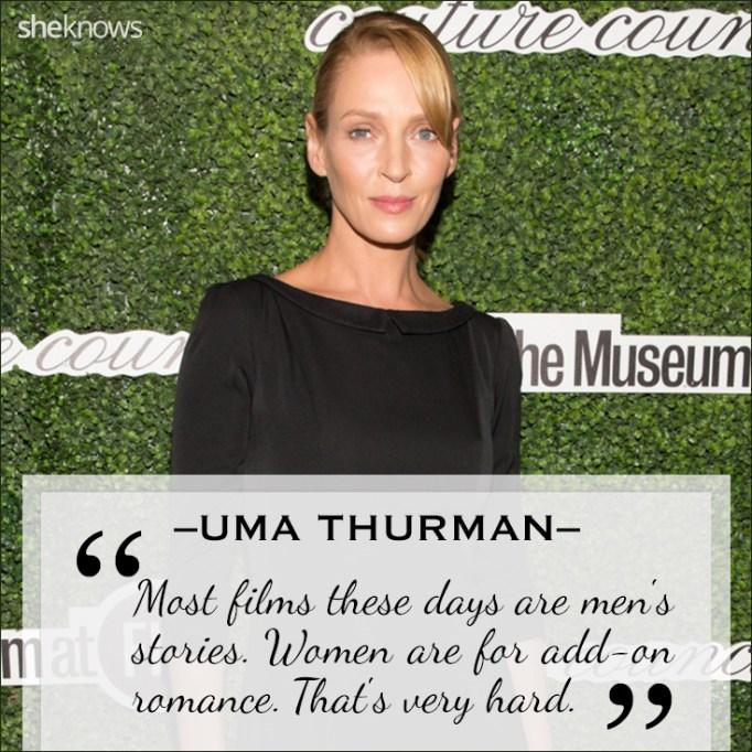 Uma Thurman quote