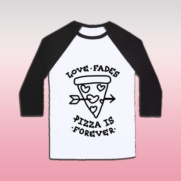 'Love fades' shirt