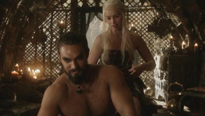 Khal Drogo & Daenerys Targaryen Had