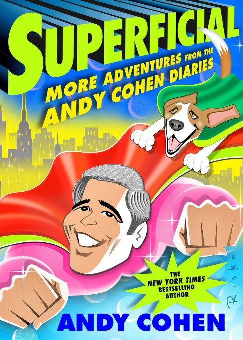 'Superficial' Andy Cohen book cover