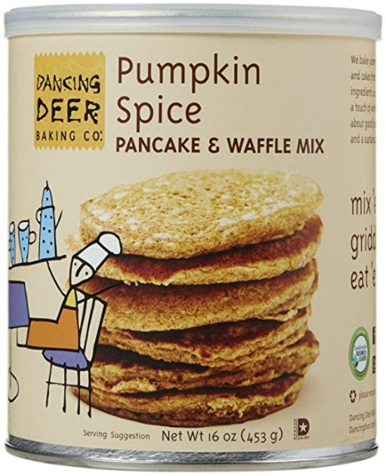 Fall Foods Amazon Will Deliver Right to Your Door: pumpkin spice pancake and waffle mix