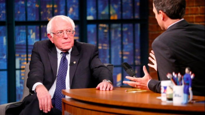 Bernie Sanders rips Donald Trump on