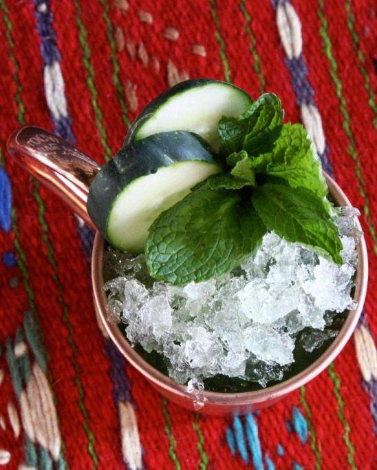 Cucumber julep