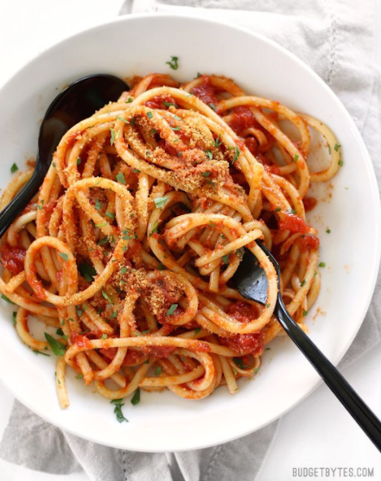 Canned tomatoes can be the starting point for some delicious, wholesome dishes.