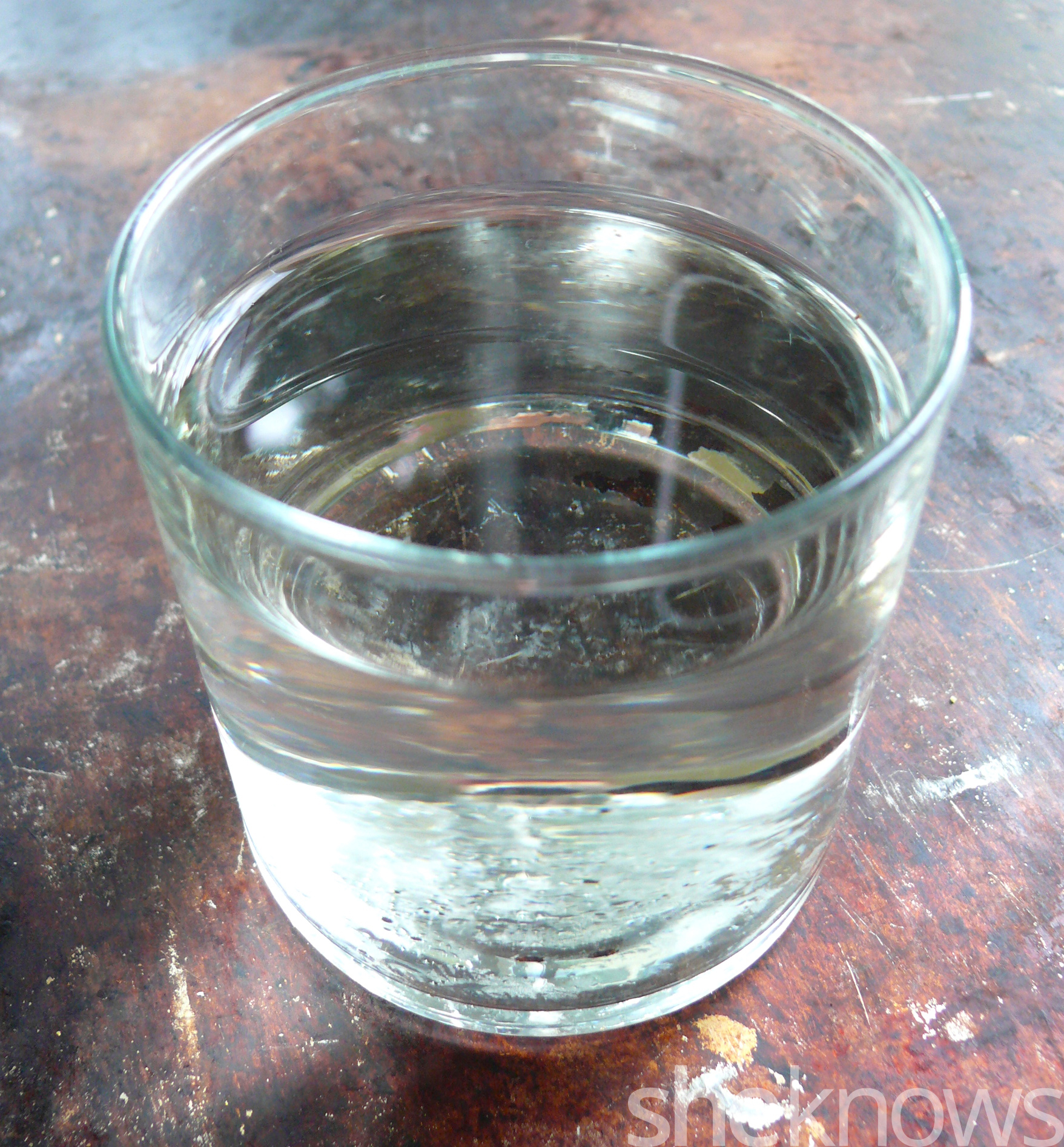 refreshing glass of toast water