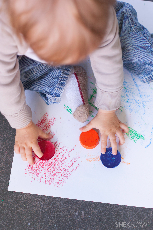 Toddler crayon | Sheknows.com - Color time