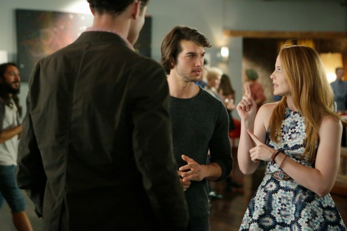 Mingo and Daphne on Switched at Birth