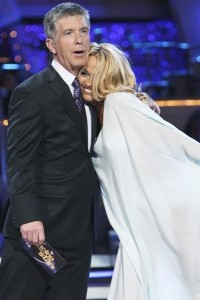 Tom Bergeron and Pam Anderson