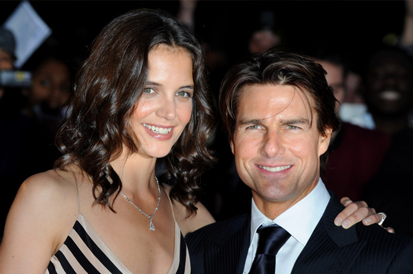 Katie Holmes and Tom Cruise height difference