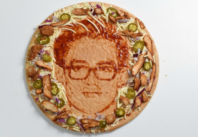 Tom Fletcher on Morrisons Father's Day pizza