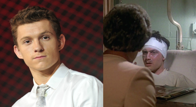 Tom Holland as Gus in Saturday Night Fever