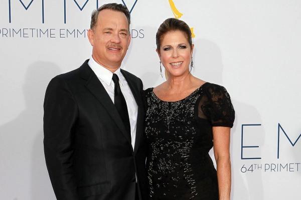 Tom Hanks and Rita Wilson, 2012 Emmy Awards
