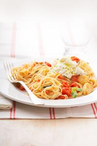 Tomato Basil Capellini