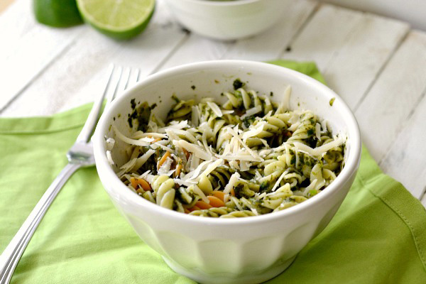 roasted tomatillo pasta
