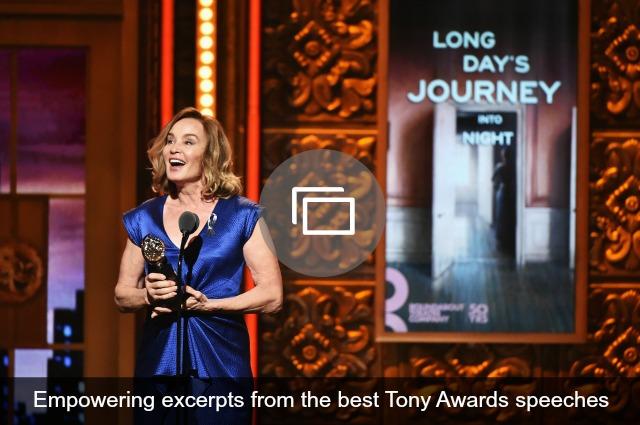 Tony Awards acceptance speeches
