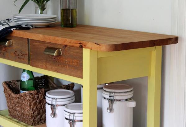 3 Forhoja kitchen cart