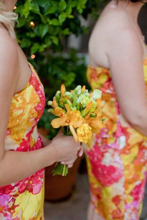 Bright citrus hues