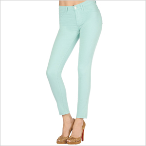 Colorful skinny jeans